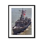 USS BOONE Framed Panel Print