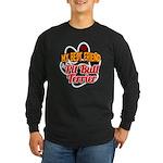 Pit Bull Terrier Long Sleeve Dark T-Shirt