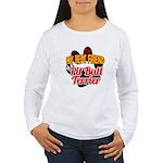 Pit Bull Terrier Women's Long Sleeve T-Shirt