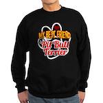 Pit Bull Terrier Sweatshirt (dark)