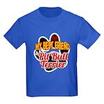 Pit Bull Terrier Kids Dark T-Shirt