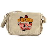 Pit Bull Terrier Messenger Bag