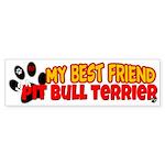 Pit Bull Terrier Sticker (Bumper)