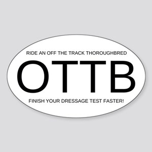 FHS OTTB Sticker (Oval )