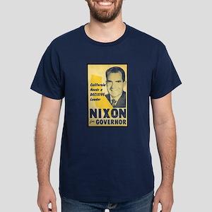 NIXON FOR GOVERNOR Dark T-Shirt