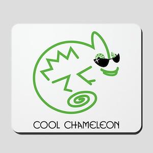 Cool Chameleon Mousepad