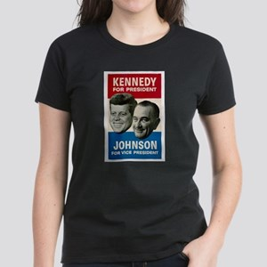 KENNEDY/JOHNSON '60 Women's Dark T-Shirt