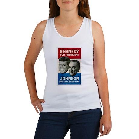 KENNEDY/JOHNSON '60 Women's Tank Top