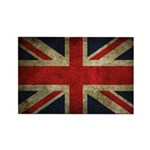 United Kingdom Vintage Flag Magnet (10 pack)
