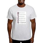 Writer's Prayer Light T-Shirt
