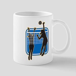 Volleyball Indoor Woman Mug