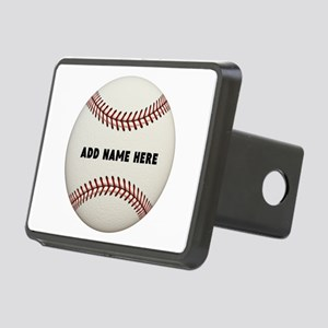 Baseball Name Customized Rectangular Hitch Cover