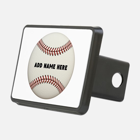Baseball Name Customized Hitch Cover