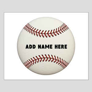 Baseball Name Customized Small Poster