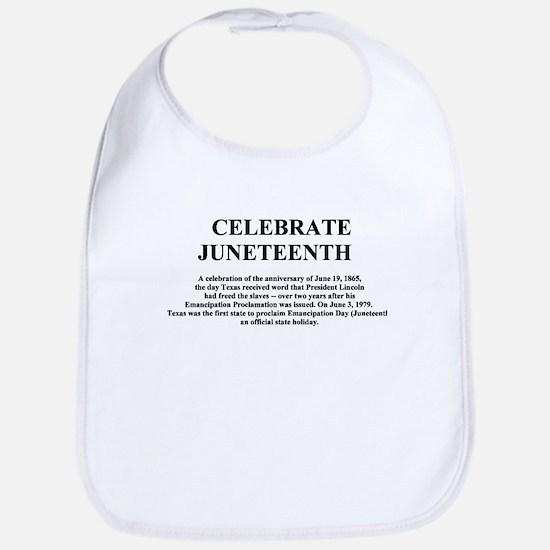 Juneteenth Bib