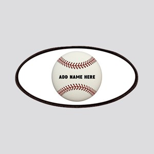 Baseball Name Customized Patch