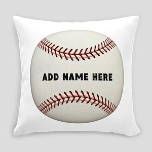 Baseball Name Customized Everyday Pillow