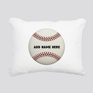 Baseball Name Customized Rectangular Canvas Pillow