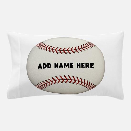 Baseball Name Customized Pillow Case