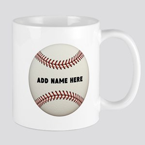Baseball Name Customized 11 oz Ceramic Mug