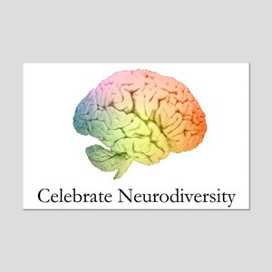 Celebrate Neurodiversity Mini Poster Print