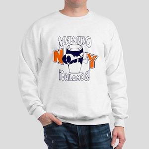 Org NY/Dk Blue NY On2 Bailamos Sweatshirt