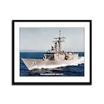 USS CROMMELIN Framed Panel Print