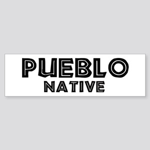 Pueblo Native Bumper Sticker