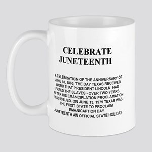 Celebrate Juneteenth Mug