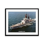 USS DALE Framed Panel Print