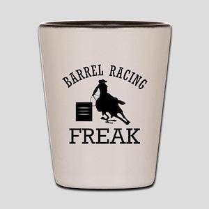 Barrel Racing Shot Glass