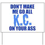 Kansas City Baseball Yard Sign