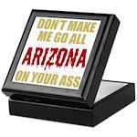 Arizona Baseball Keepsake Box