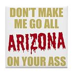 Arizona Baseball Tile Coaster