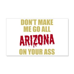 Arizona Baseball Wall Decal