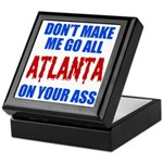 Atlanta Baseball Keepsake Box