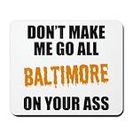 Baltimore Baseball Mousepad