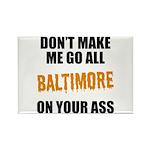 Baltimore Baseball Rectangle Magnet