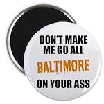 Baltimore Baseball Magnet