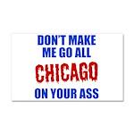 Chicago Baseball Car Magnet 20 x 12