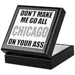 Chicago Baseball Keepsake Box