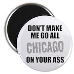 Chicago Baseball Magnet