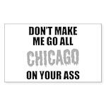 Chicago Baseball Sticker (Rectangle)