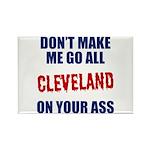 Cleveland Baseball Rectangle Magnet