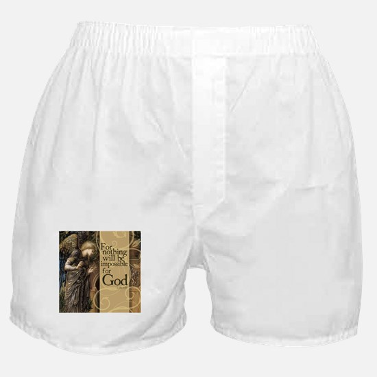 Nothing is Impossible Boxer Shorts