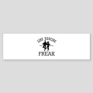 Line Dancing Freak Sticker (Bumper)
