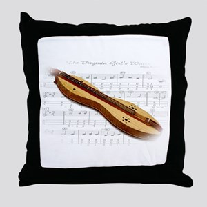 Mountain Dulcimer Throw Pillow