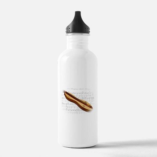 Mountain Dulcimer Water Bottle