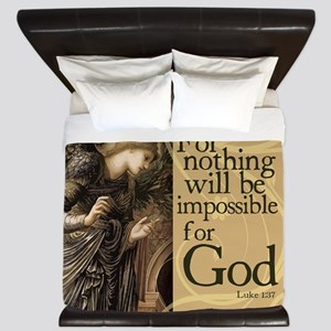 Nothing is Impossible King Duvet