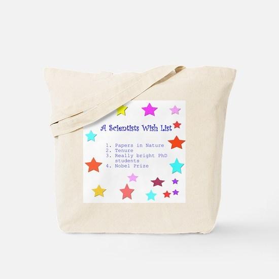 Wish List Tote Bag